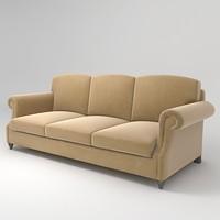 ralph lauren chilton sofa 3d max