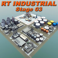 industrial rt 3d model