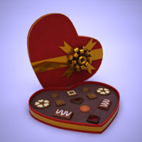 Valentine heartchocolate