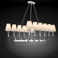 Barovier&Toso Glass Chandelier