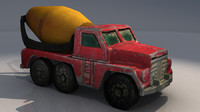 max matchbox toy cement truck