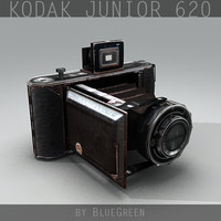 Kodak Junior 620 Camera