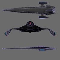 starship zhee 3d model