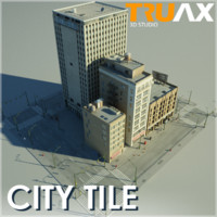 3d truax studio city block