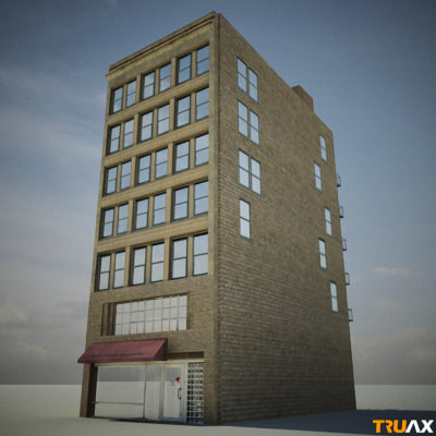 3d truax studio city block - Truax Studio City Block... by Truax Studio