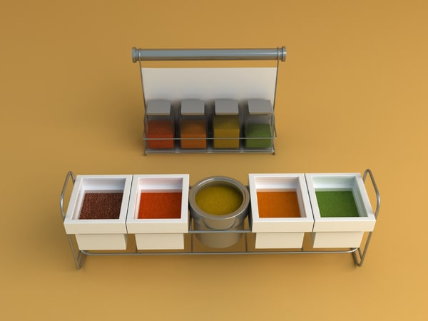 3ds max kitchen accessories equipment - Kitchen equipment... by RippleDesign