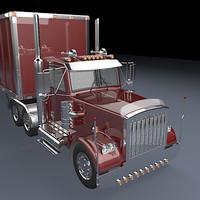 3dsmax realistic truck