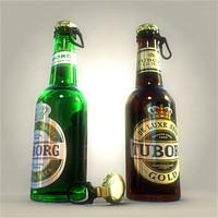 Tuborg bottles