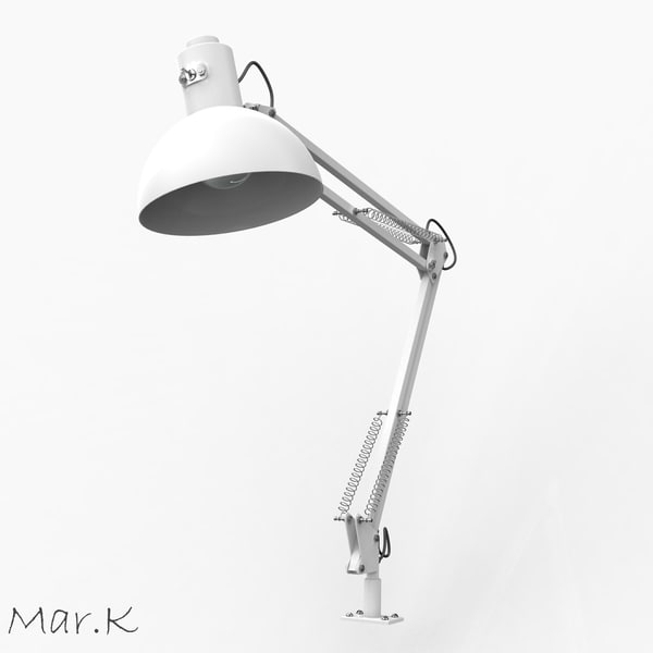 angle lamp c4d - Table lamp... by Mar.K