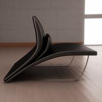 3dsmax lilium sofa chair