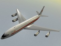 B 707-300 TWA