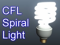 CFL Spiral Light 001