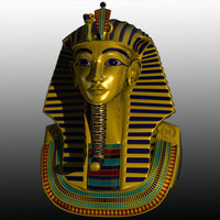 3d tut ench amun model