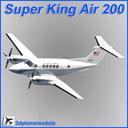 Beechcraft Huron C-12C 3D models