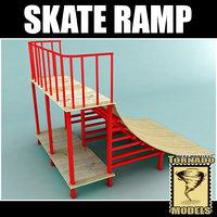 dxf skate ramp