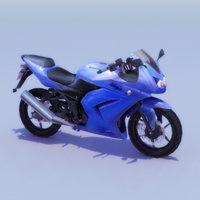Ninja_250R_3DModel