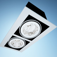 orbit accent double light 3d 3ds