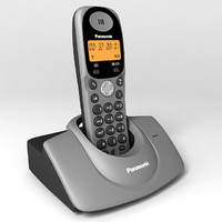 digital cordless phone 3d 3ds