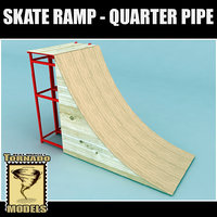 Skate Ramp - Quarter Pipe