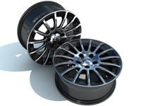 15 Spoke Alloy Wheel