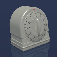 3d kitchen timer timing