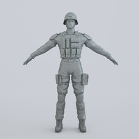 3ds max man armor