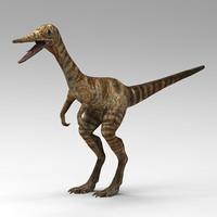 compsognathus 3d max