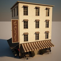 max cafe house building