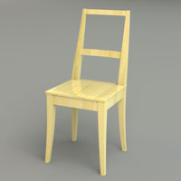 x wooden ikea chair