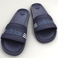 3d model slippers flipflops