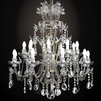 3d model classic crystal swarowski