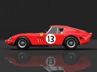 Ferrari 250 gto 1963 STD Materials