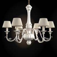 3d florence art chandelier model