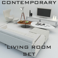 Contemporary Living Room Set