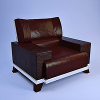 3d model florence collections armchair