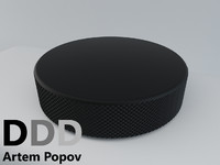 maya hockey puck