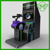 stand arcade sniper gun 3d model