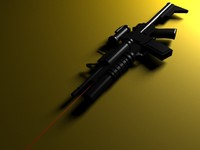 3d machine gun m203