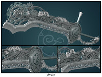 3ds max gears avain