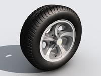 chevrolet wheel c4d