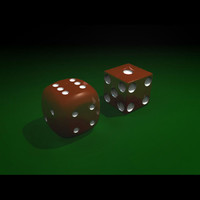 dice casinos 3d model