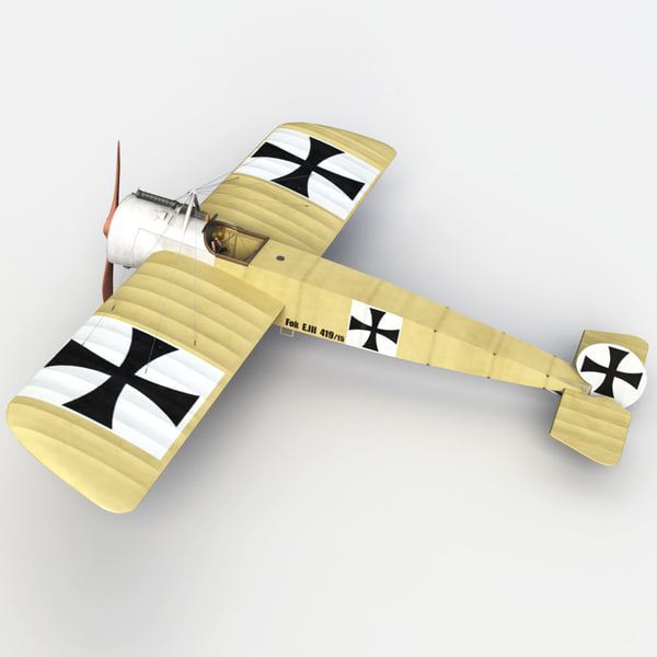 world war d 1 3d model - Aces of World War I Collection... by PerspectX