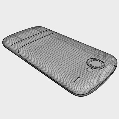 3d google nexus communicator android model - Google Nexus One Communicator (Android OS)... by HD_modelling