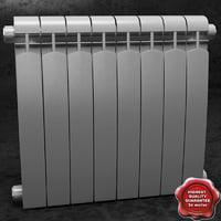radiator v2 3d model