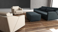 obj rolf-benz 350 sofa chair