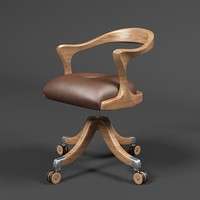 Ceccotti Collezion marlowe office chair stool