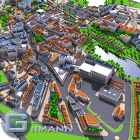 3d city map1_Vray.zip