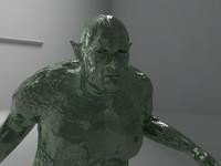 3d model fat goblin