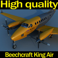 3d beechcraft king air