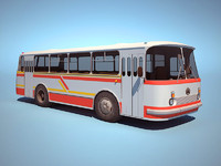 3d city bus